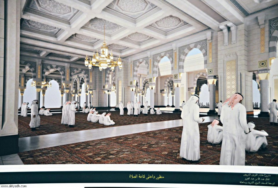 Masjid e Nabawi (S.A.W) expansion plan signed (4/6)