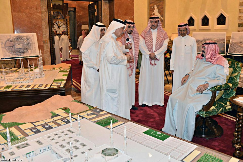 Masjid e Nabawi (S.A.W) expansion plan signed (3/6)