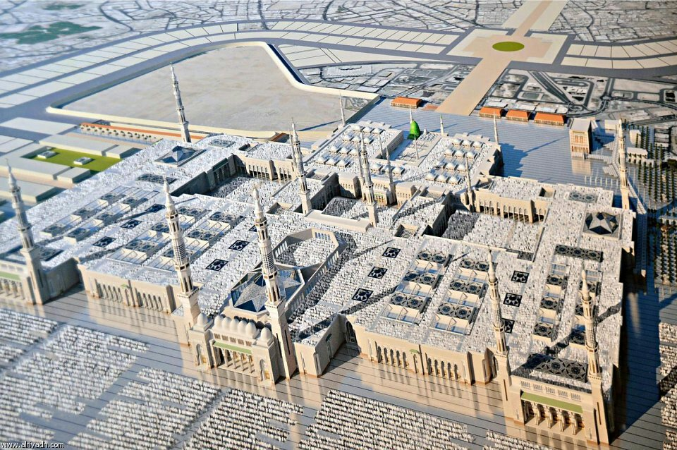 Masjid e Nabawi (S.A.W) expansion plan signed (1/6)