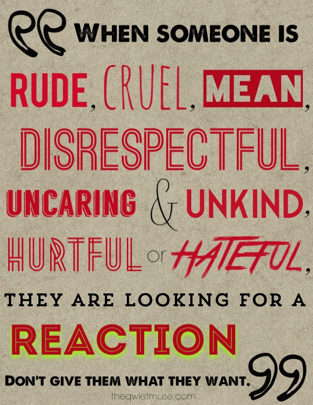 Reaction by Crystal R. Cook