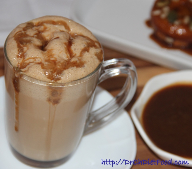 Cappucino with butterscotch